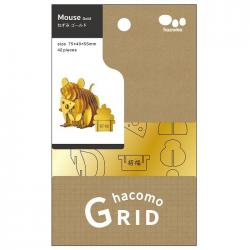 hacomo GRID - Mouse (Gold)