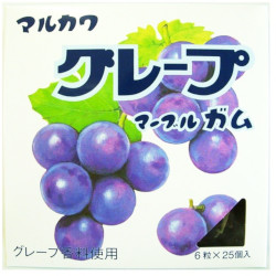 Marukawa Grape Marble Gum Big ...