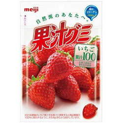 Meiji Juice Gummy Strawberry F...